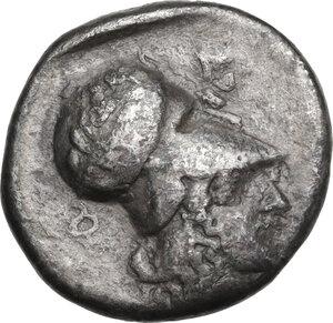 reverse: Epeiros, Ambrakia. AR Stater, c. 426-404 BC