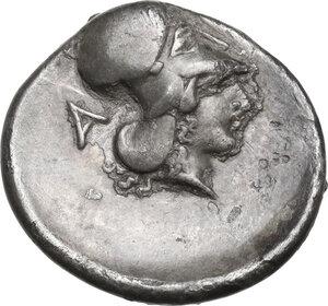 reverse: Epeiros, Ambrakia. AR Stater, c. 360-338 BC