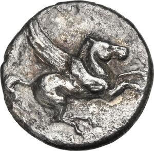obverse: Akarnania, Anactorium. AR Stater, c. 350-300 BC