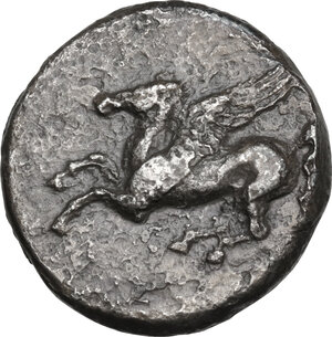 obverse: Akarnania, Echinos. AR Stater, after 344 BC