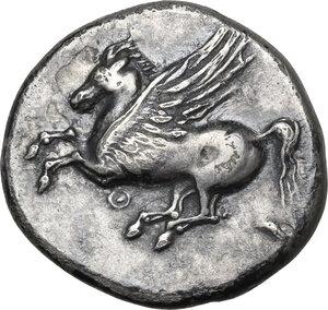 obverse: Akarnania, Thyrrheion. AR Stater, c. 320-280 BC