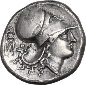 reverse: Akarnania, Thyrrheion. AR Stater, c. 320-280 BC