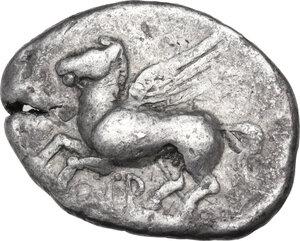 obverse: Akarnania, Thyrrheion. AR Stater, c. 350-250 BC