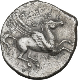 obverse: Akarnania, Alyzia. Ar Stater, c. 350-250 BC