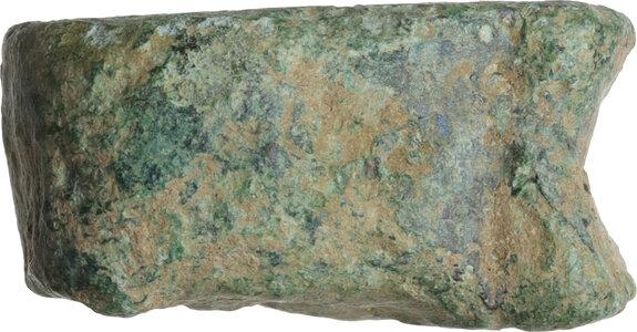 reverse: Aes Praemonetale. Aes Formatum. . AE cast Knucklebone (Astragalus). 6th-4th century BC