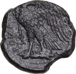 reverse: Anonymous. AE Double Unit, after 276 BC. Neapolis (?)