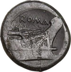 reverse: Anonymous semilibral series.. AE Semuncia, 217-215 BC