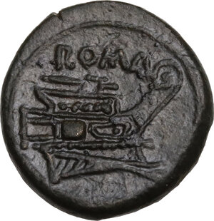 reverse: Anonymous post-semilibral series.. AE Semuncia, 215-212 BC