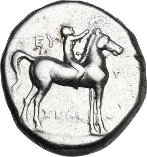 obverse: Southern Apulia, Tarentum. AR Stater, c. 272-235 BC