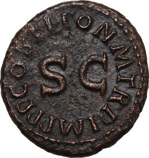 reverse: Claudius (41-54).. AE Quadrans