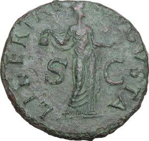 reverse: Claudius (41-54).. AE As, 42-43 AD