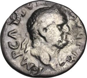obverse: Vespasian (69 -79).. AR Denarius, 71 AD