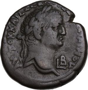 obverse: Vespasian (69-79).. AE Tetradrachm, Alexandria mint, 69-70