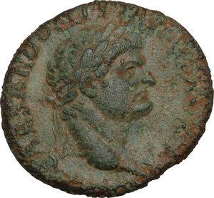 obverse: Domitian as Caesar (69-81).. AE 26 mm, Ephesus mint, 77-78
