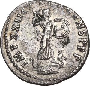 reverse: Domitian (81-96).. AR Denarius, 93-94