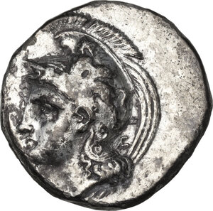 obverse: Northern Lucania, Velia. AR Didrachm, c. 350 BC
