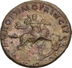 reverse: Trajan (98-117).. AE Dupondius, 104/5-107