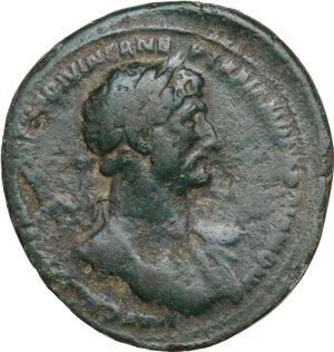 obverse: Hadrian (117-138).. AE As, 118 AD