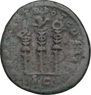 reverse: Hadrian (117-138).. AE As, 118 AD