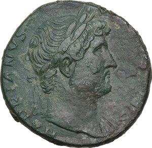 obverse: Hadrian (117-138).. AR Sestertius, 124-125