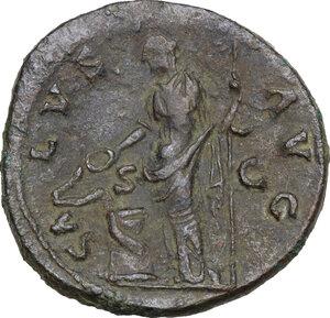 reverse: Hadrian (117-138).. AE As, 134-138