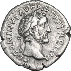 obverse: Antoninus Pius (138-161).. AR Denarius, 159-160