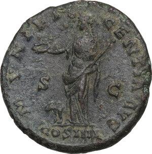 reverse: Antoninus Pius (138-161).. AE As, 148-149 AD