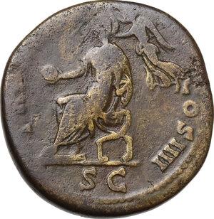 reverse: Antoninus Pius (138-161). AE Sestertius, 151-152 AD