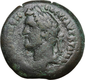 obverse: Antoninus Pius (138-161).. AE Drachm, dated RY 15 = 151/2. Alexandria (Egypt)