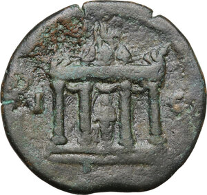 reverse: Antoninus Pius (138-161).. AE Drachm, dated RY 15 = 151/2. Alexandria (Egypt)