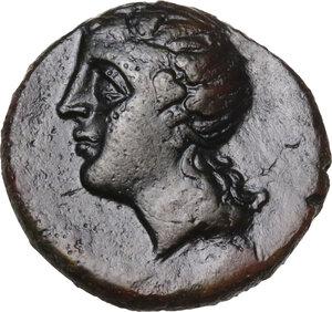 obverse: Southern Lucania, Metapontum. AE, 275-250 BC