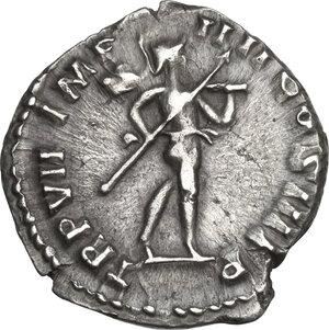 Commodus (177-193).. AR Denarius, 181-182