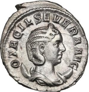 Otacilia Severa, wife of Philip I (244-249).. AR Antoninianus, 248 AD