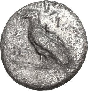 obverse: Akragas. AR Litra, 460-440 BC