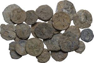 obverse: The Roman Empire.. Multiple lot of twenty-five (25) unclassified PB Tesserae