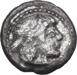 obverse: Syracuse.  Deynomenid Tyranny (485-466 BC).. AR Litra, 475-470 BC