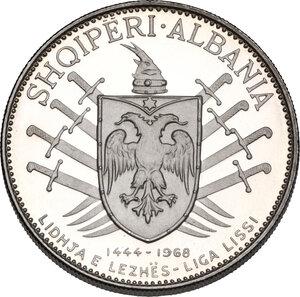 Albania. AR 5 Leke 1969.