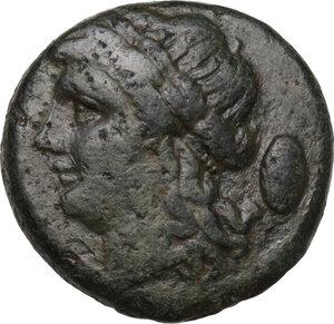 obverse: Samnium, Southern Latium and Northern Campania, Aesernia.. AE 18 mm, 263-240 BC