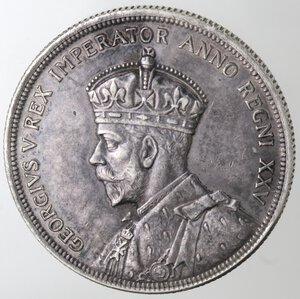 obverse: Canada. George V. 1910-1936.Dollaro 1935. Ag 800.
