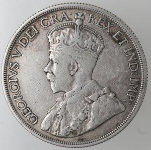 obverse: Canada.George V. 1910-1936.Dollaro 1936.Ag.
