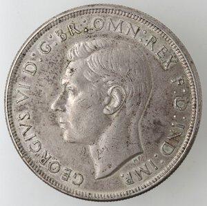obverse: Australia. Giorgio VI. 1 Corona 1937. 1936-1952. Ag 925.