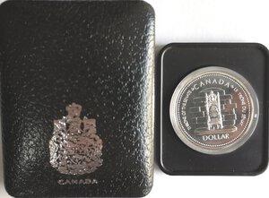 reverse: Canada. Elisabetta II. Dollaro 1977 Giubileo d argento. Ag 500.