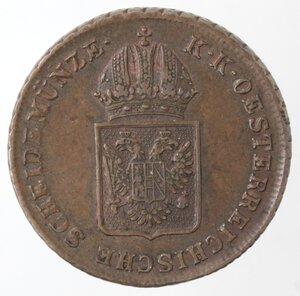 obverse: Austria. Francesco II. 1792-1835.kreuzer 1816 A. Ae. Zecca Vienna.