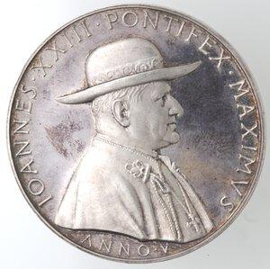 obverse: Medaglie. Roma. Giovanni XXIII. 1958-1963. Medaglia anno V. Ag.