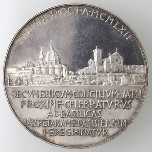 reverse: Medaglie. Roma. Giovanni XXIII. 1958-1963. Medaglia anno V. Ag.