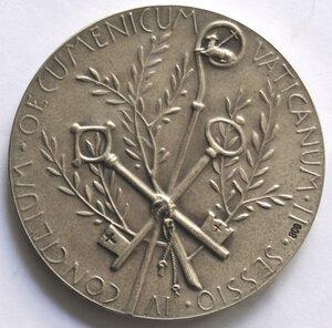 obverse: Medaglie. Roma.Paolo VI. 1963-1978. Medaglia celebrativa del Concilio Ecumenico Vaticano.Ag.
