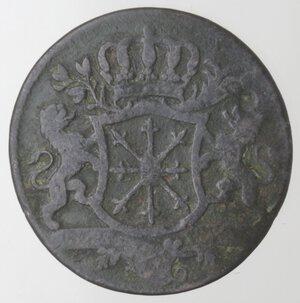 obverse: Germania-Cleves.Federico II. 1740-1786.1/4 di Stuber 1753 C.Ae.