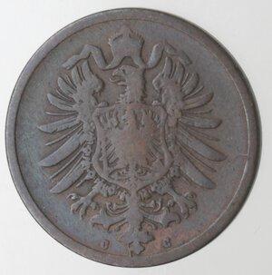 obverse: Germania-Prussia.Guglielmo I. 1871-1888.2 Pfennig 1875 C. Ae.