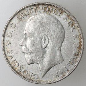 obverse: Gran Bretagna. Giorgio V. 1910-1936. Fiorino 1926. Ag.