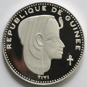 obverse: Guinea. 500 Franchi 1970. Tiyi. Ag 999.